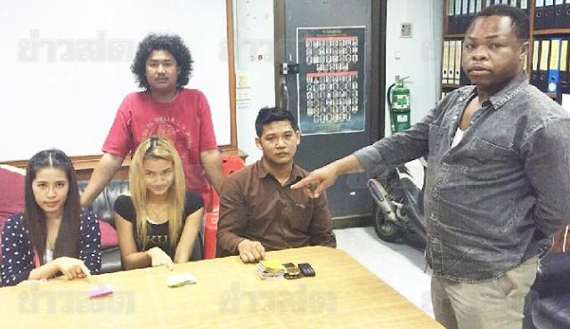 3 thais robbed nigerian bangkok