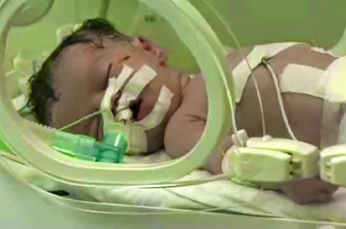 Bayi Shaima lahir 10 minit selepas ibunya syahid