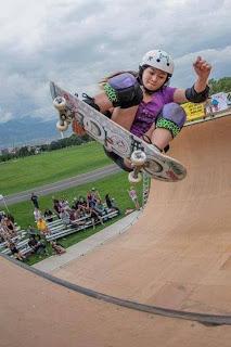Allysha Bargado Pro Skater Perempuan