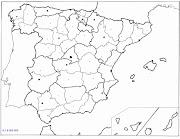 Mapa de España para recortar mapa politico espaã±a