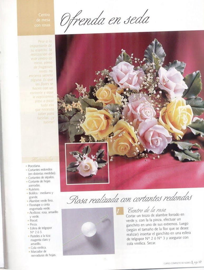 Flores De Porcelana Fria