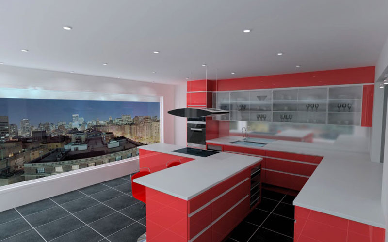Renovera Kok Ideer : Koksinspiration till ditt nya kok 3D bilder po modernt kok
