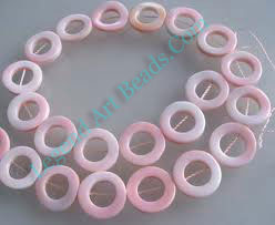 Conch Shell 18mm Ring Beads