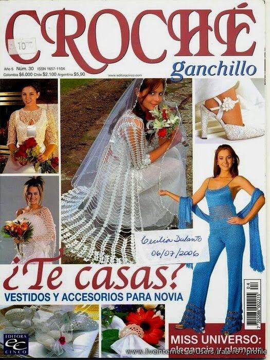 Revista con motivo de novias  gratis para descargar