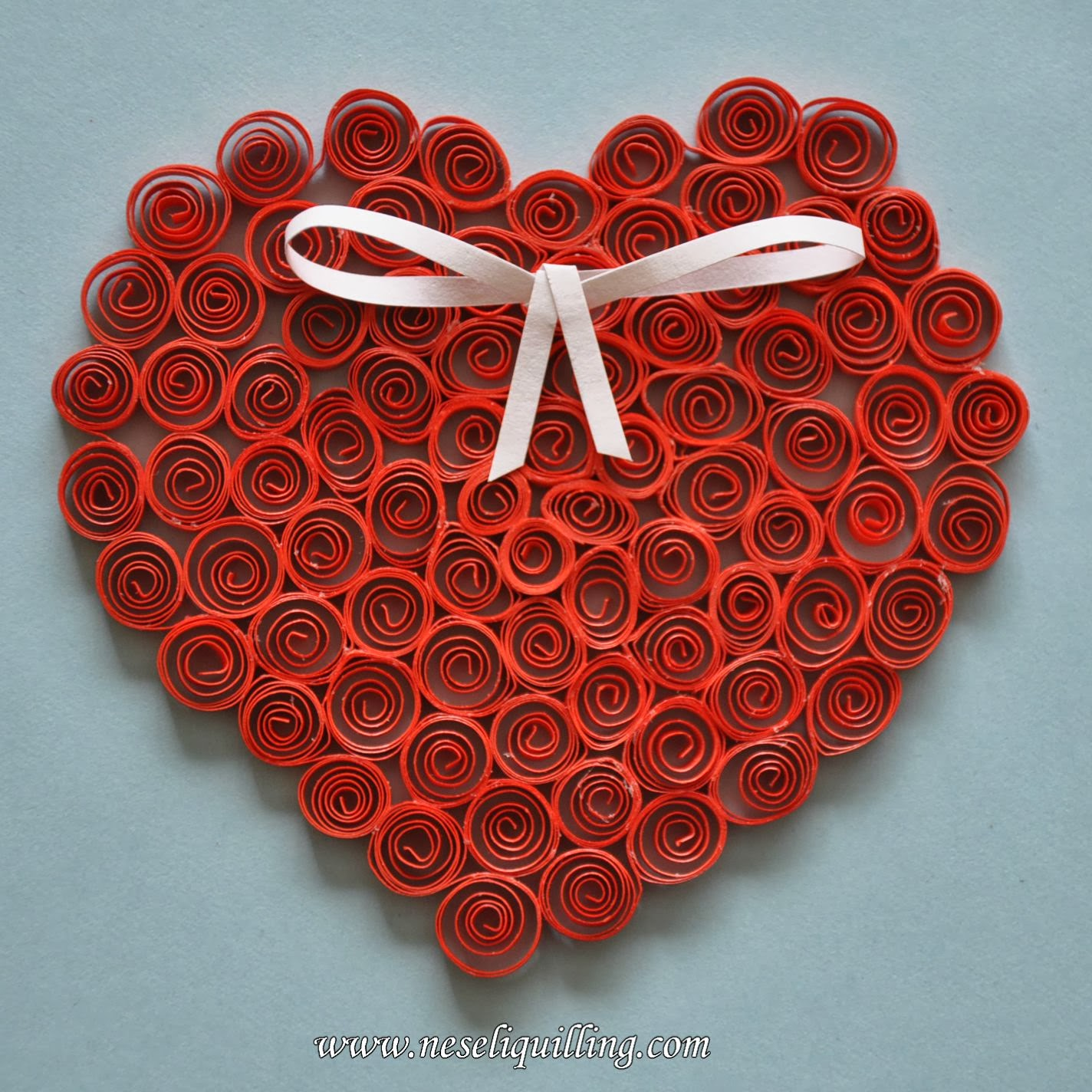 nesli quilling heart