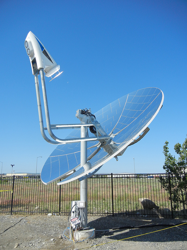 Concentrated Solar Power Could Boost Natural Gas Plants By