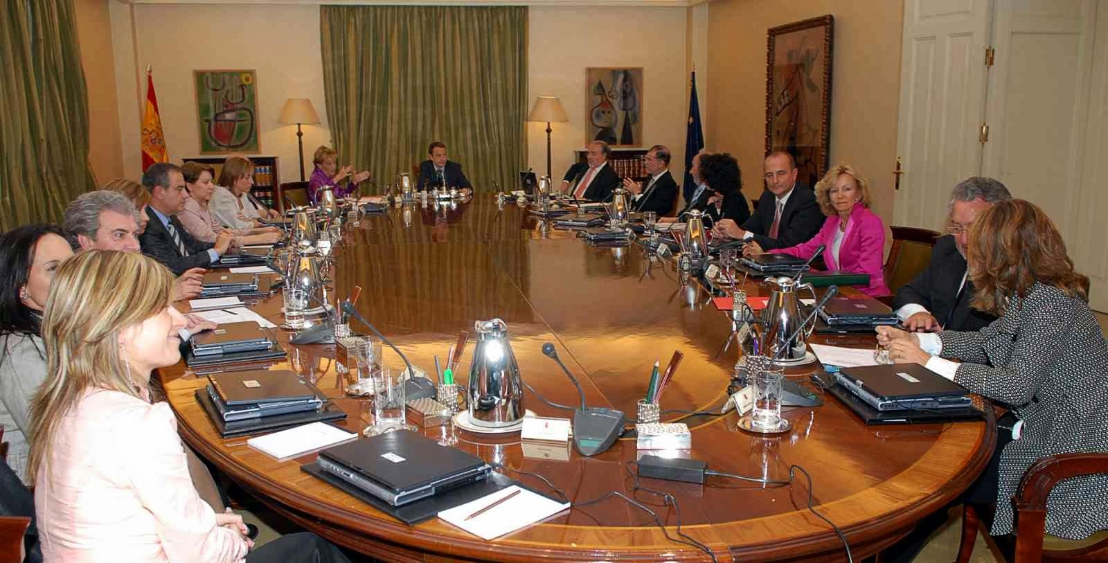 Organos colegiados y consejo de ministros