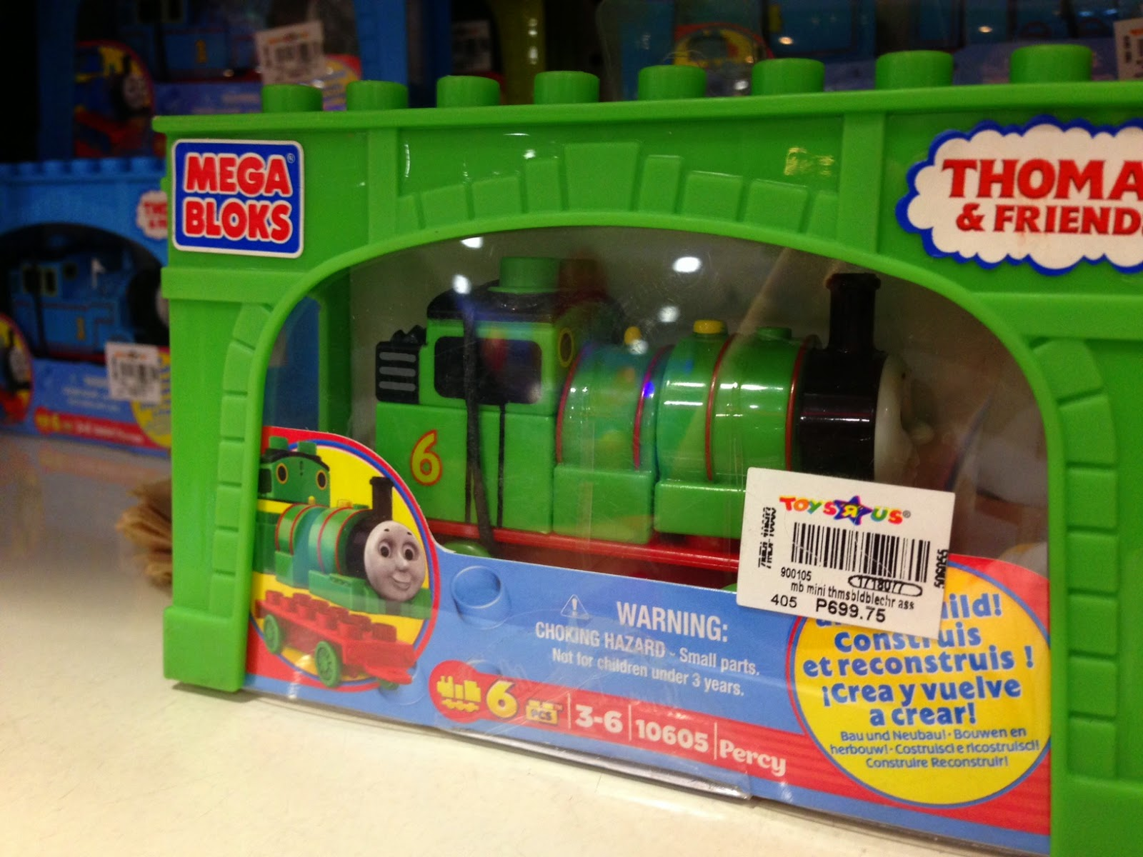 Toy SALE : Mega Bloks Percy at 50% off