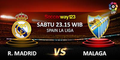 Prediksi Real Madrid vs Malaga