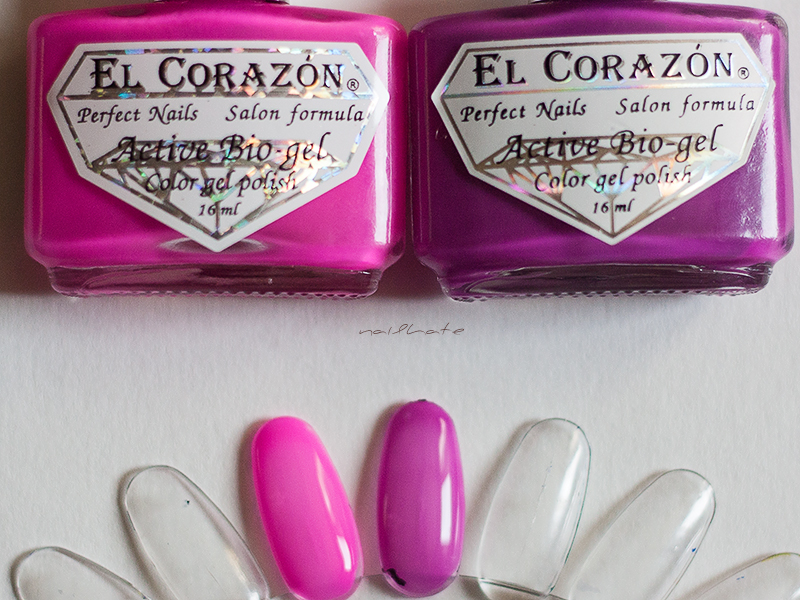 "El Corazon activ bio gel ""Jelly Neon""  #423/254 #423/256 #423/252 #423/257"