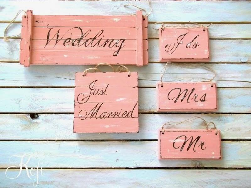 Placute nunta