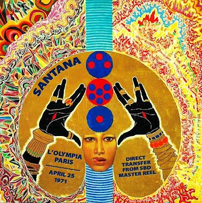 Santana - Olympia, Paris - 1971-04-25