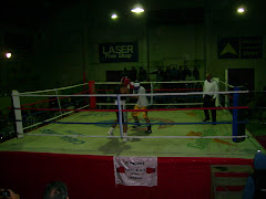 Boxeo solidario en Chuy