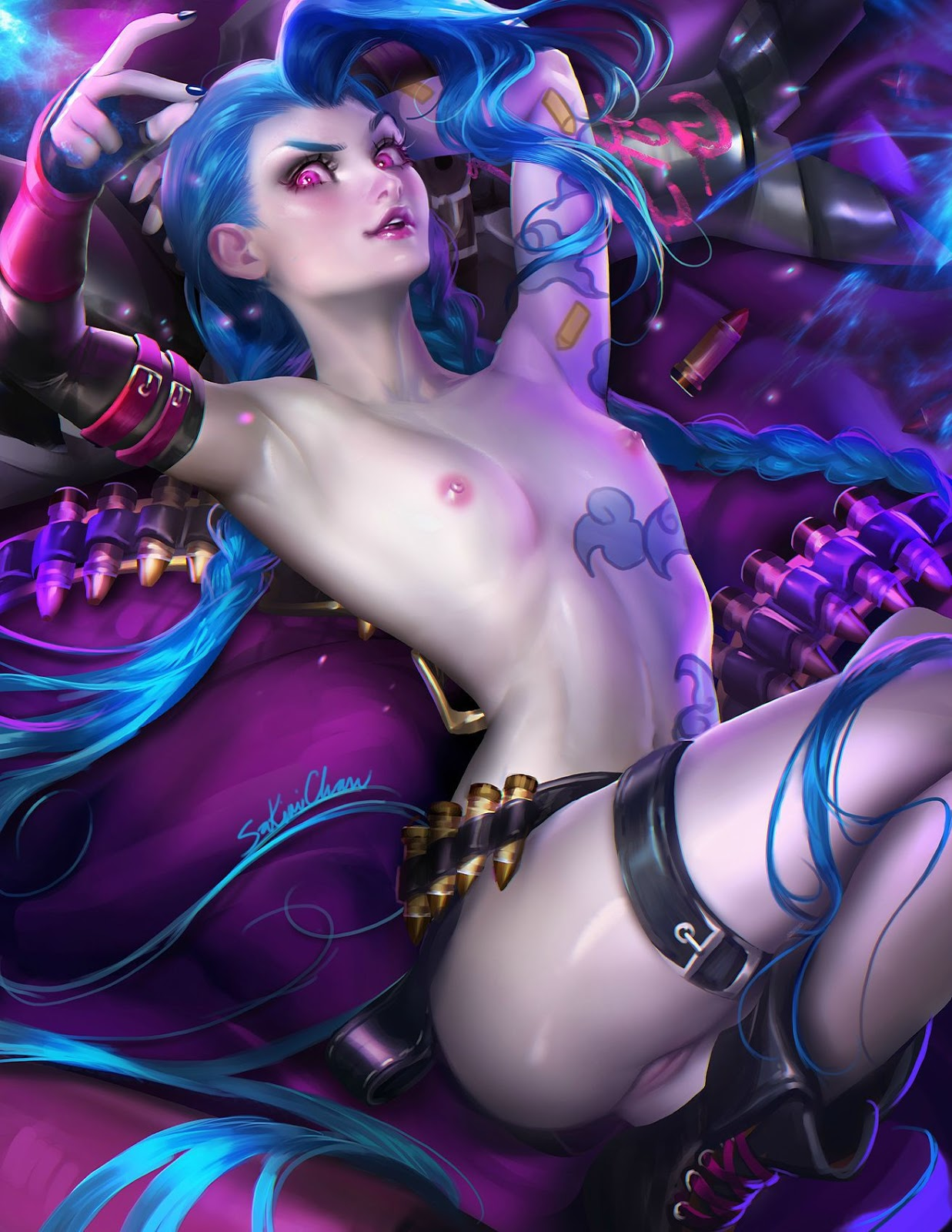 League of legend naked sex erotic streaming