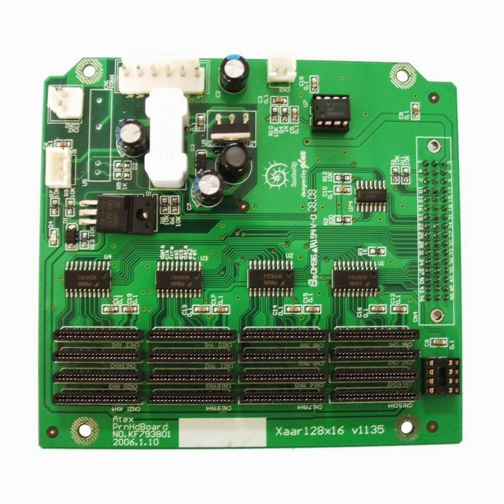 Infiniti/Challenger FY-33VB Printer Printhead Board