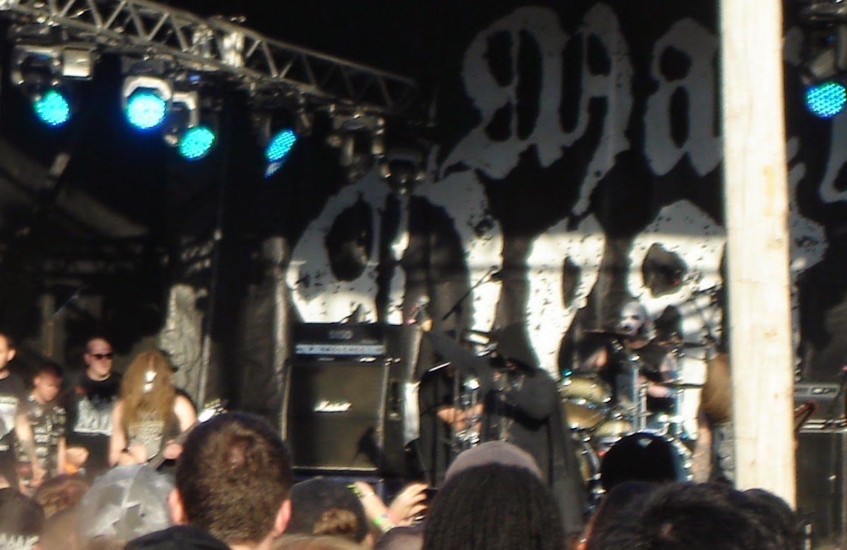 Taake performing at Maryland Deathfest XII