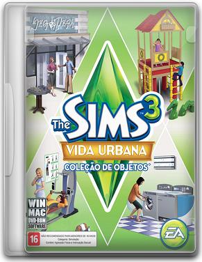 Capa The Sims 3: Vida Urbana   PC (Completo) + Crack