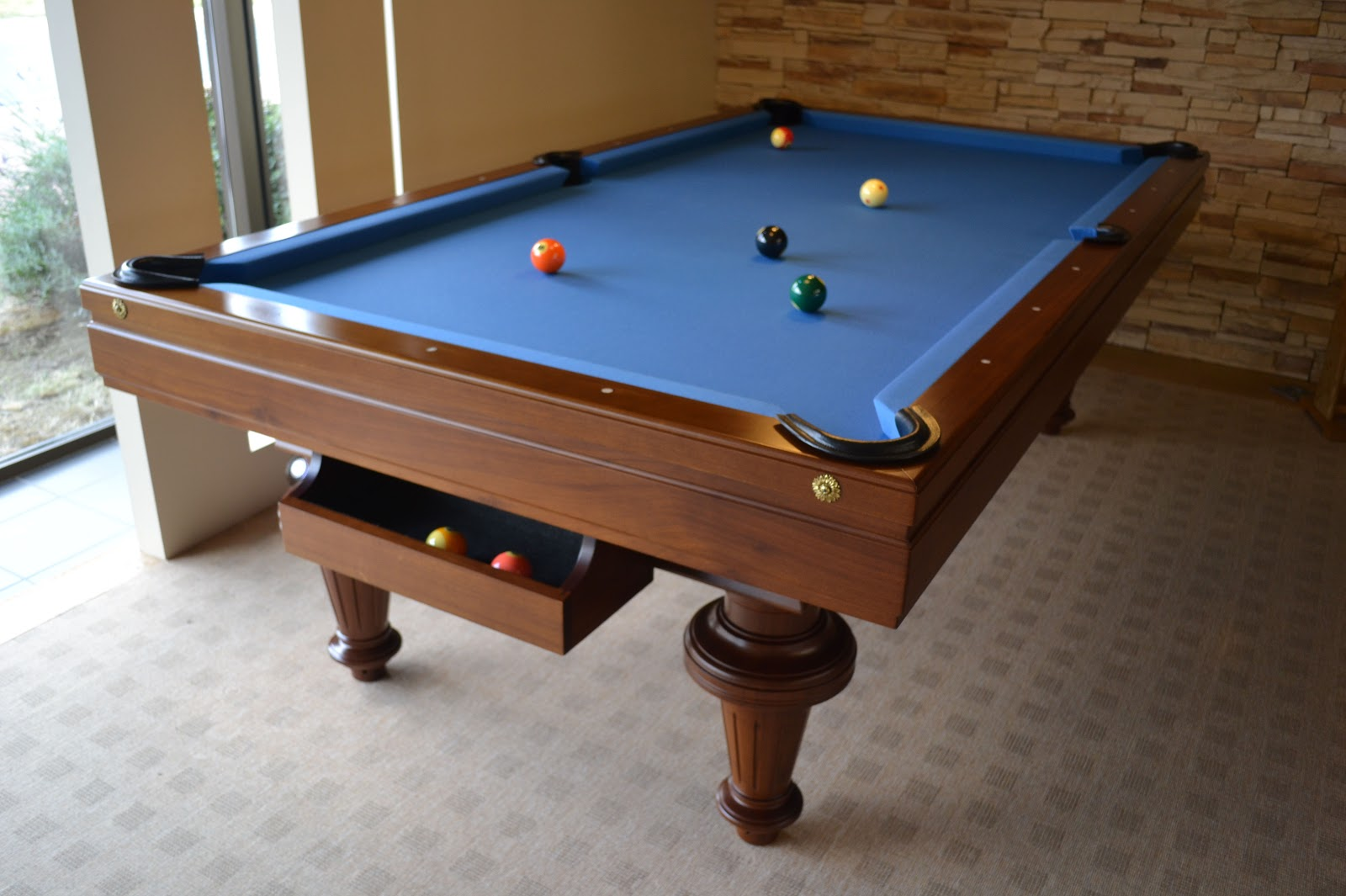 Billard Americain Piece Decoration Idees