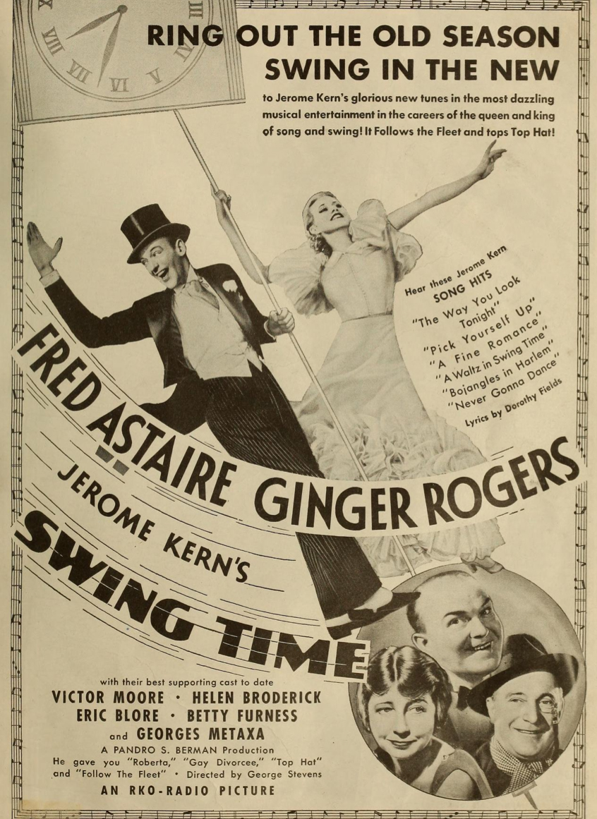 The Ginger Rogers Resource Soundtrack Recordings