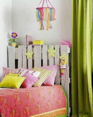Cabecero habitación infantil