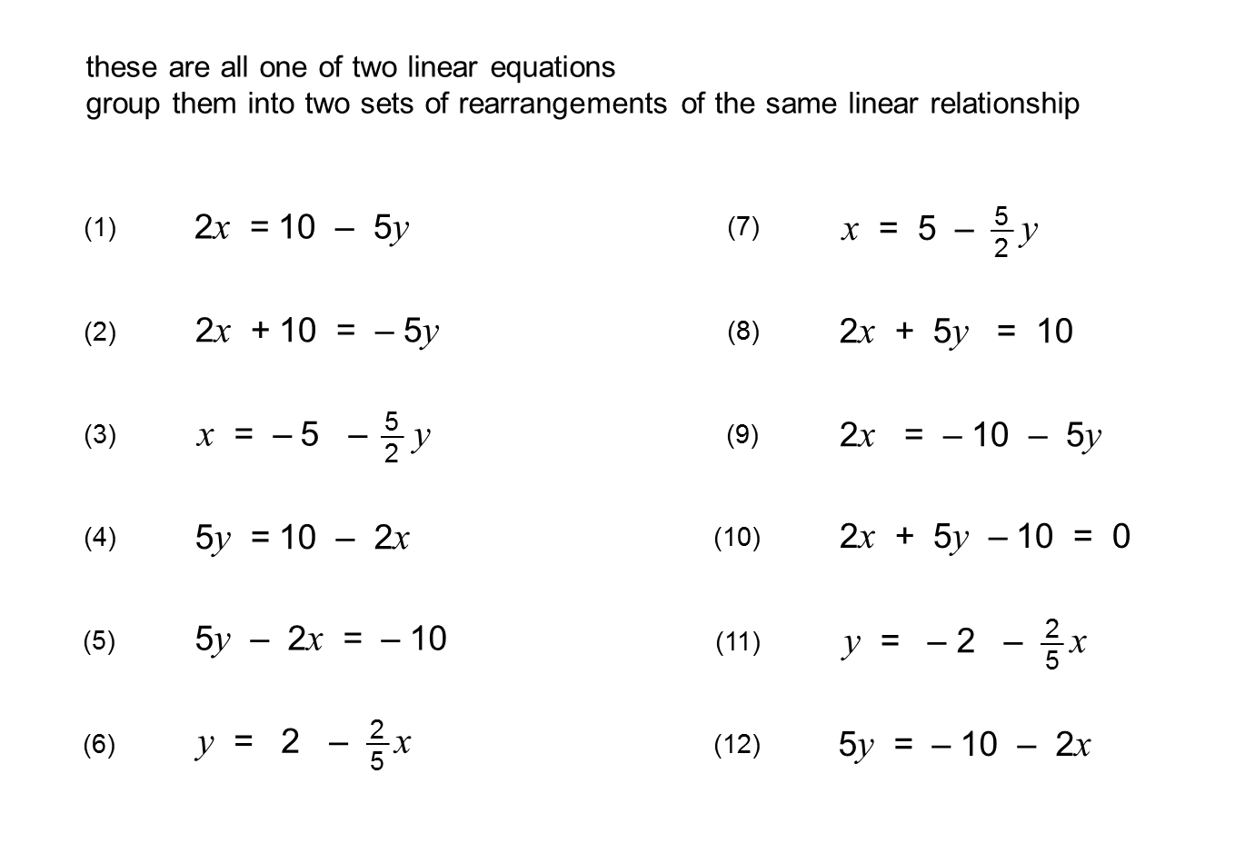 worksheet Rearranging rearranging equations into ymxc lessonpaths source 4 bp blogspot com