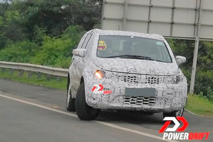Tata Hexa continues testing, spotted again
