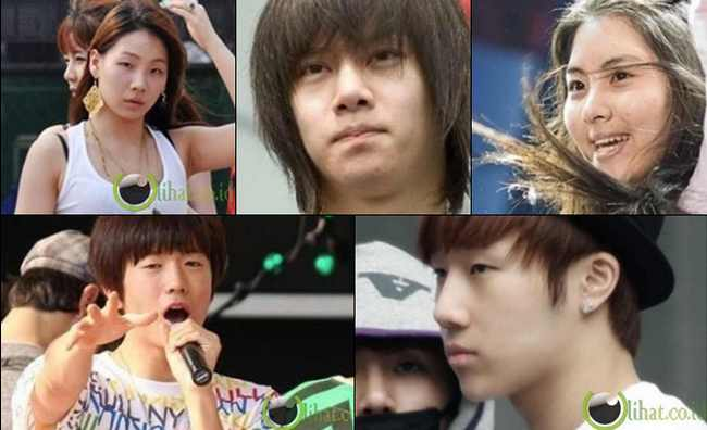 10 Wajah Selebritis Korea tanpa Make Up saat Latihan