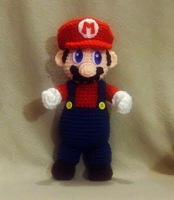 Patrones Amigurumi Gratis: Patron amigurumi Mario Bros