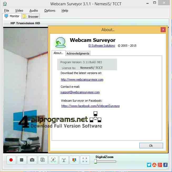 Crack key willing webcam 4 8