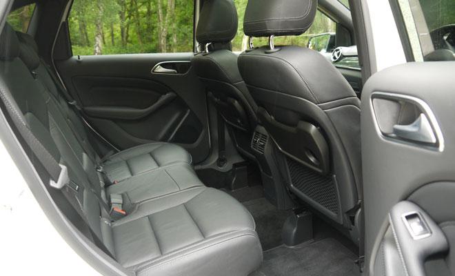 Mercedes-Benz B-Class rear cabin