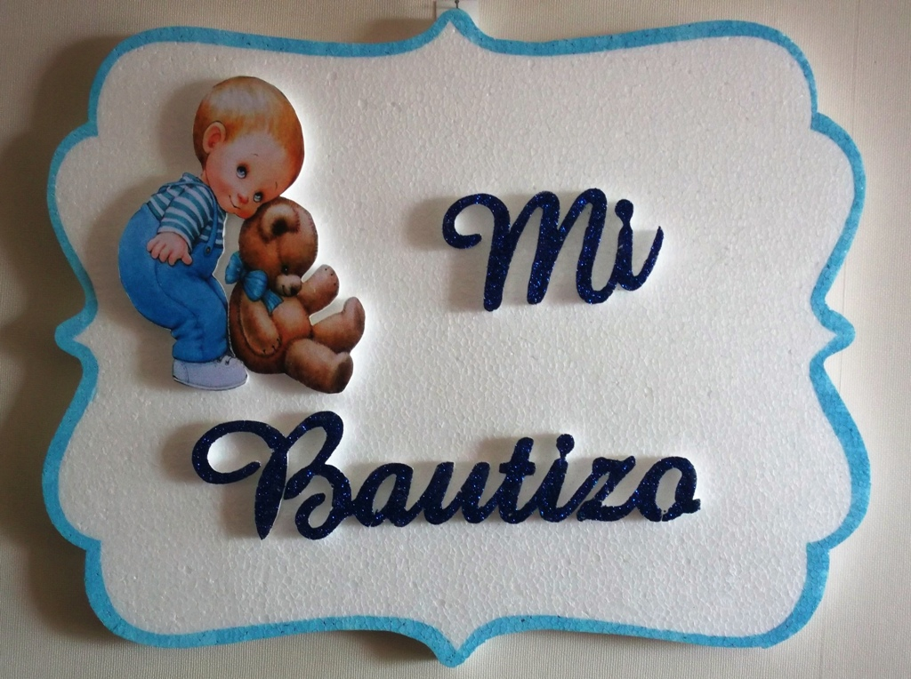 Eventos para tu Bebé: Alternativas LETREROS MI BAUTIZO