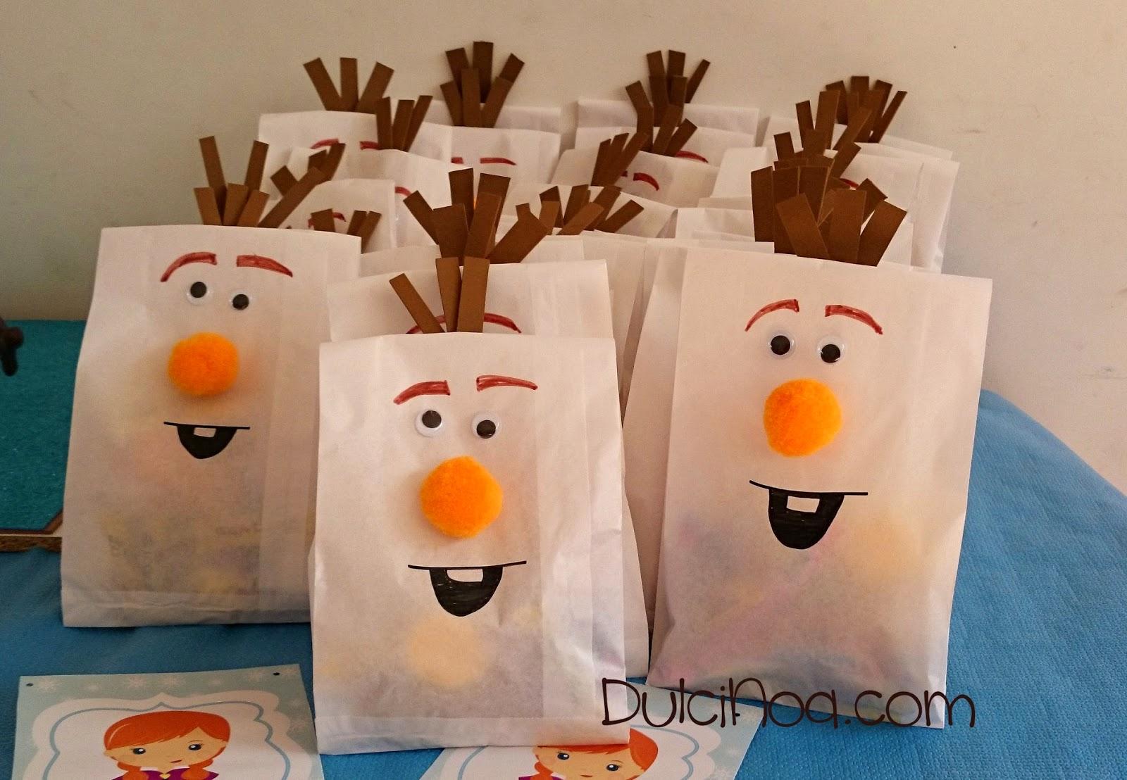 Bolsas chuches Olaf