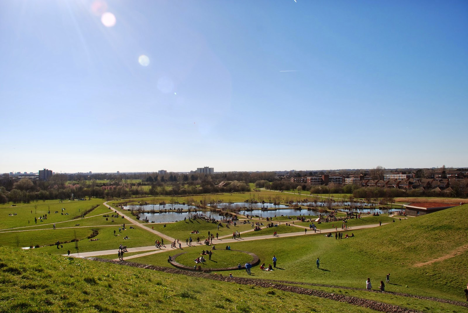 Top 5 West London dog walks: Northala Fields