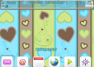 Choco+Heart Choco Heart BlackBerry Curve 8900 Themes