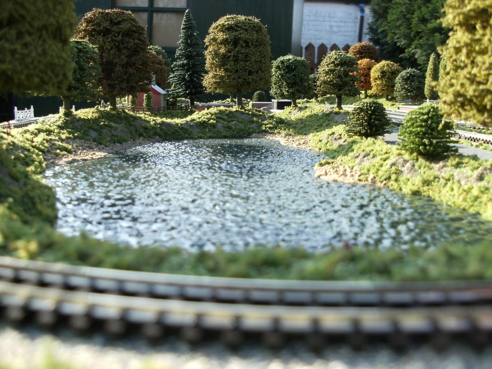 Model railway scenic accessories shop