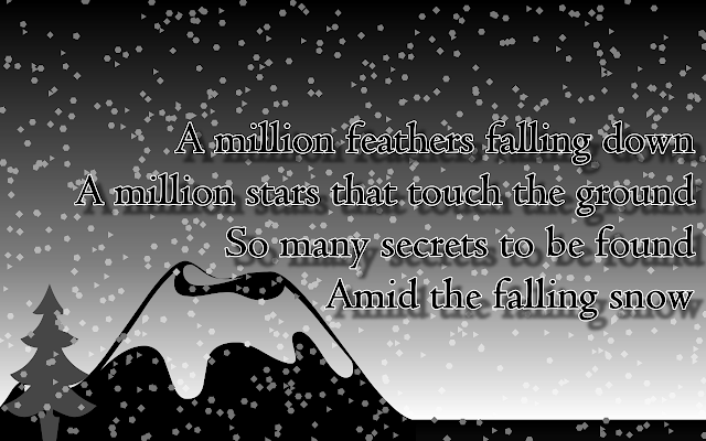 falling snow quote