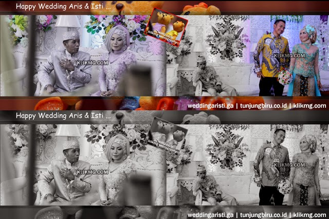 Contoh Foto Liputan Pada Pernkahan Aris & Isti [weddingaristi.ga] | Make Up ,Busana & Dekoras : Tunjungbiru.co.id Rias Pengantin | Foto Liputan : Klikmg2 Fotografer [klikmg.com]