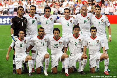 Portugal National Football Team Euro 2012 Hd Desktop Wallpaper