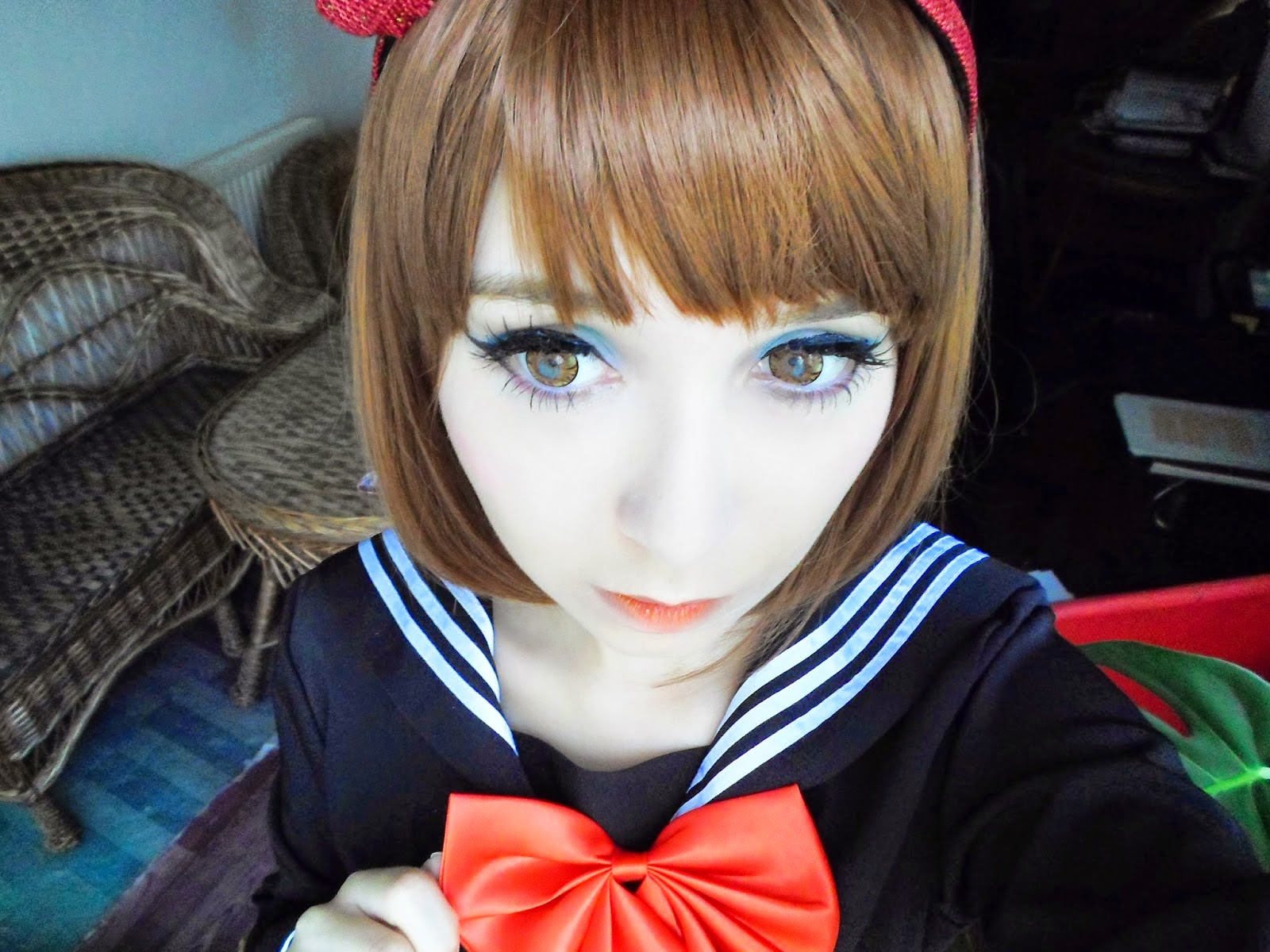I.Fairy Cara Brown Circle Lenses for Cosplay & Casual Looks