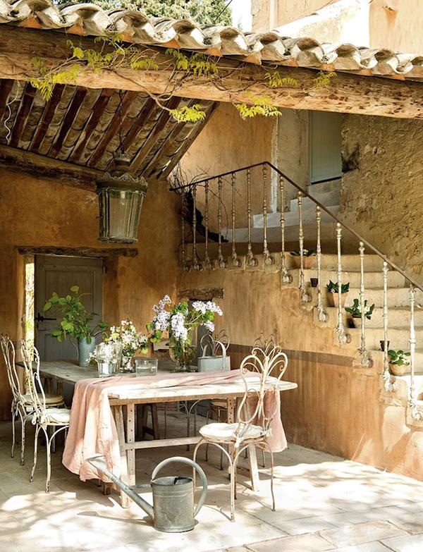 Estilo rustico casa rustica en la provenza - Casas estilo rustico ...