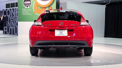 2010 Detroit Auto Show: 2011 Honda CR-Z pictures