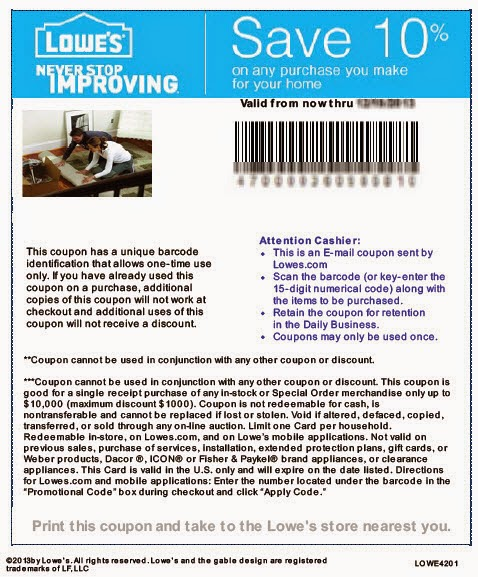 Improvements coupon code