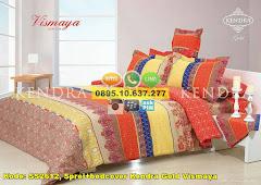 Harga Sprei+bedcover Kendra Gold Vismaya Jual