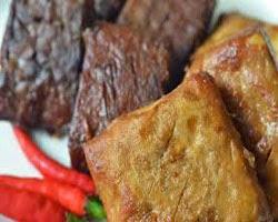 Resep praktis (mudah) membuat masakan khas jogja tahu tempe bacem enak, lezat