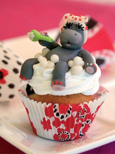 Su aygırlı cupcake