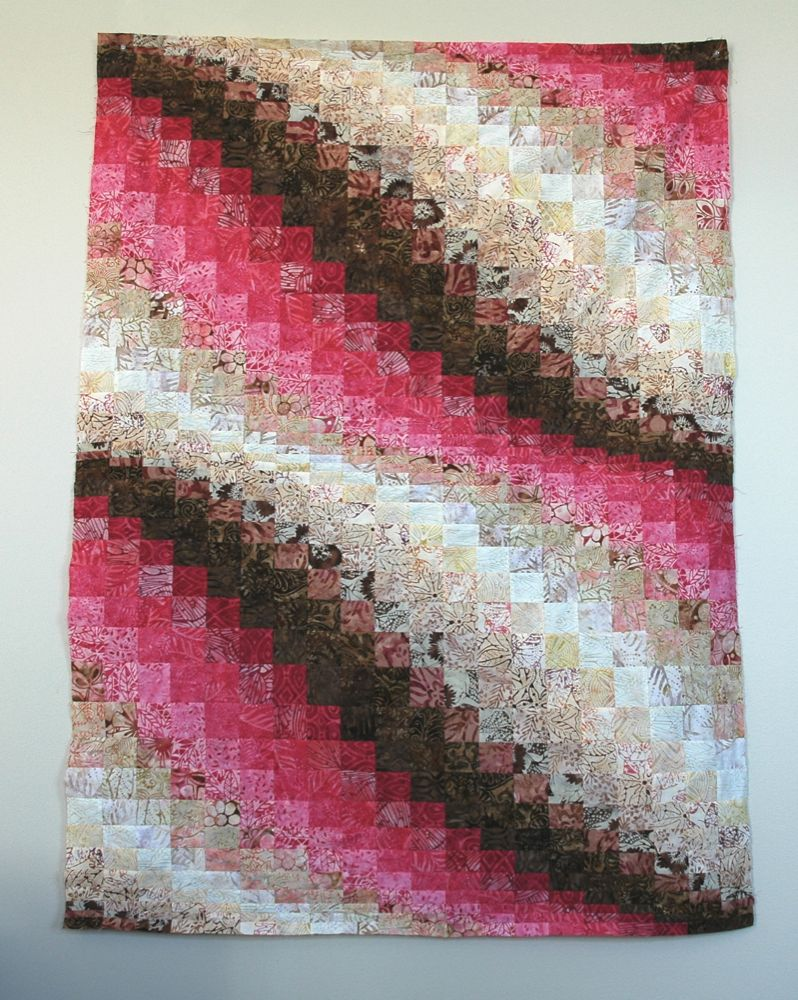 Layer Cake Quilt Moda : A Quilt of Heather: Layer Cake Bargello