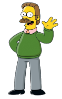 Simpsons Ned Flanders stereotypical Christian