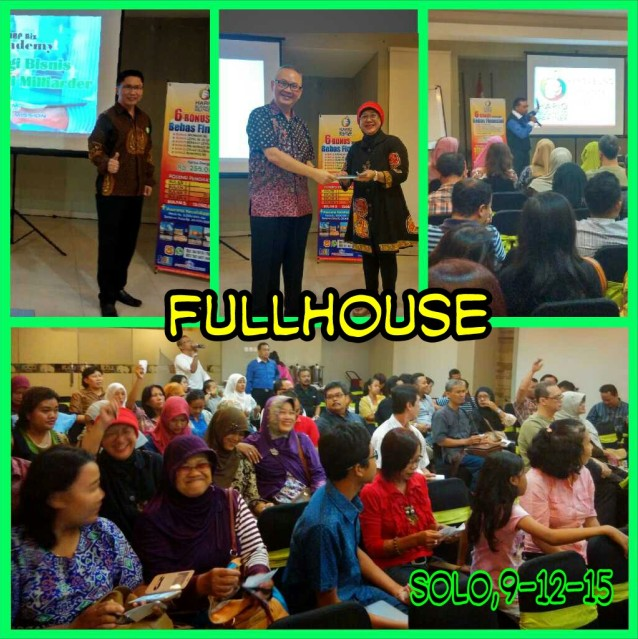 Acara di Solo : FullHouse