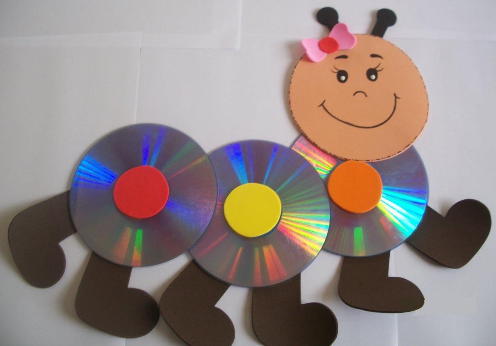 Светофор из дисков своими руками 3