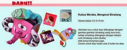 Buku Bantal Kubus Meraba by SeButik Kids